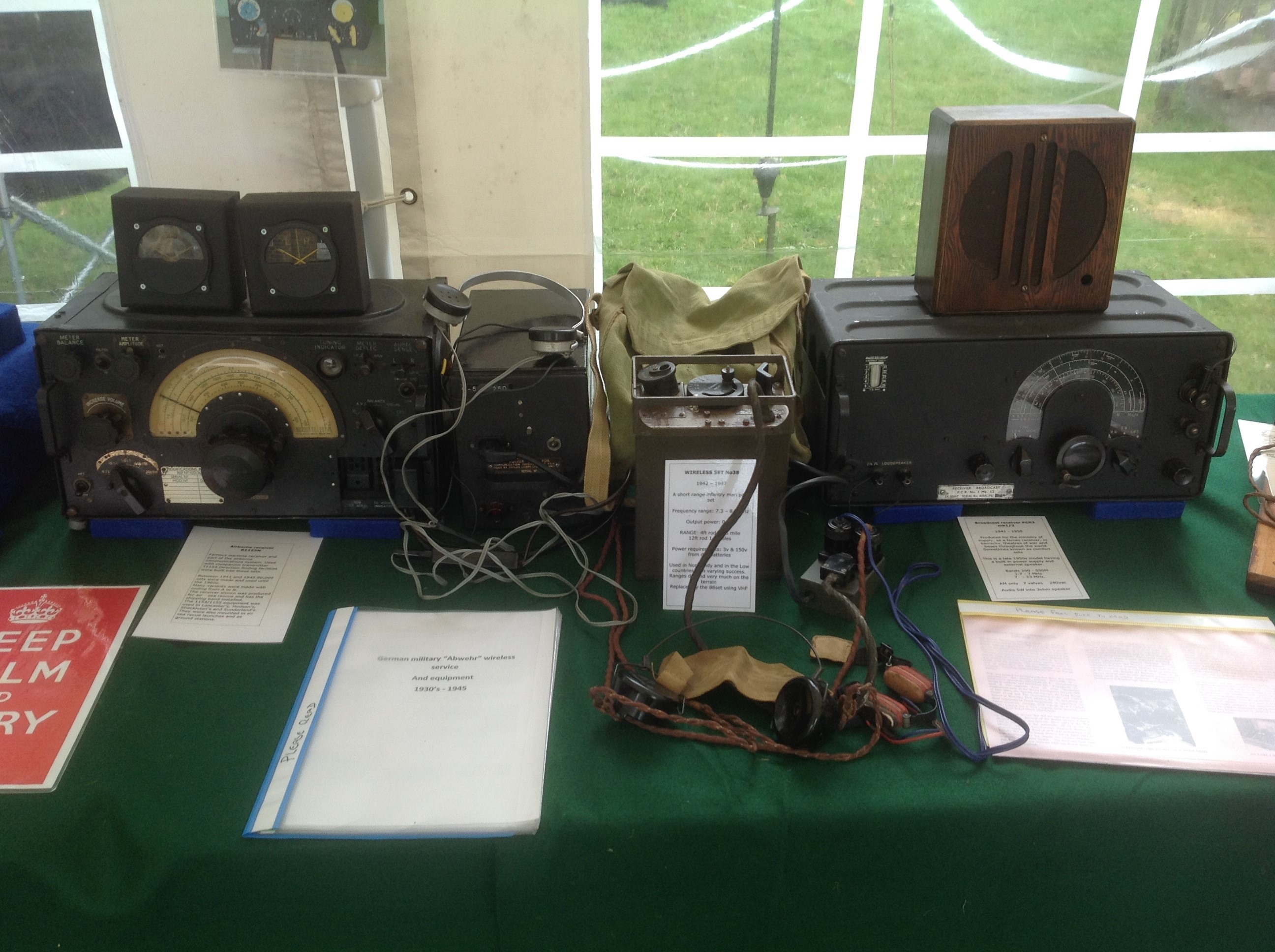 More Vintage military Radios