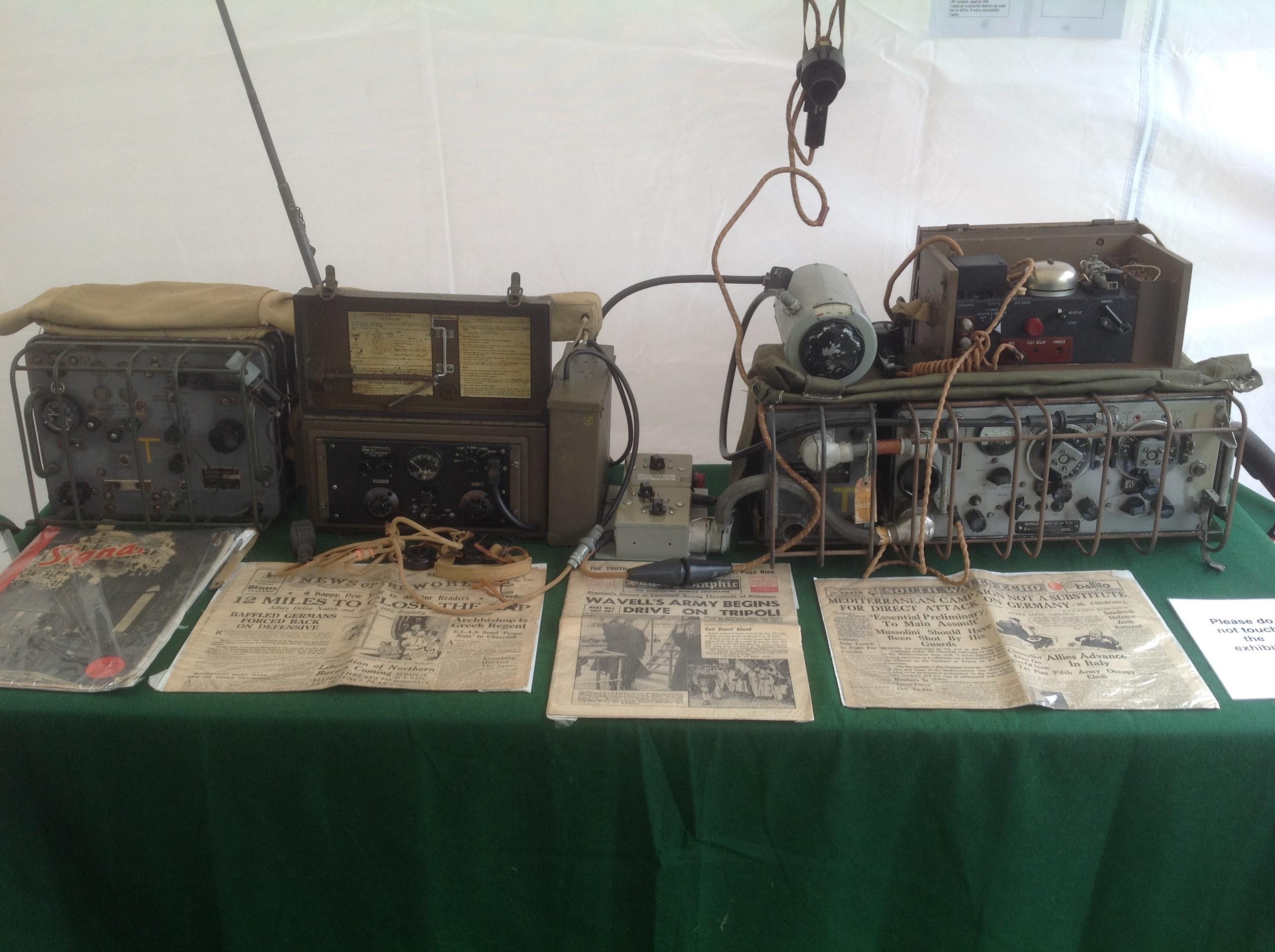 M0VID's WW2 Canadian built radio gear.